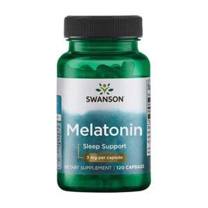 Swanson, Мелатонин, 3 мг, 120 капсул