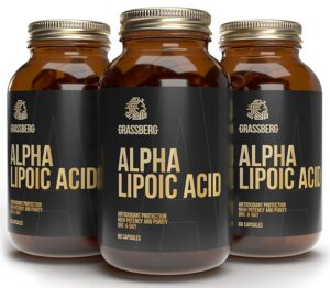 GRASSBERG Alpha Lipoic Acid 60 mg 60 caps