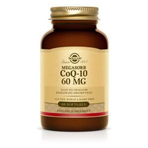 Solgar Megasorb CoQ-10 60 mg 60 Softgels