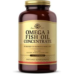 Solgar Omega-3 Fish Oil Concentrate 240 Softgel