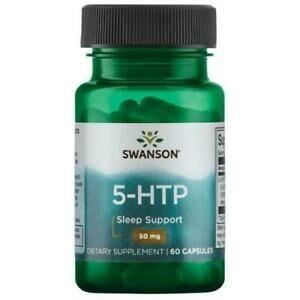 Swanson, Ultra 5-HTP, 100 мг, 60 капсул